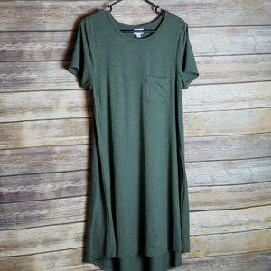 LuLaRoe Green Carly Size M